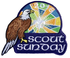 Scout Sunday 2016 patch