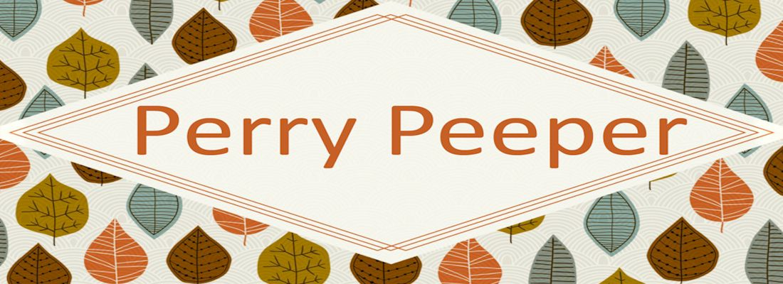 Perry Peeper Newsletter - November 2017